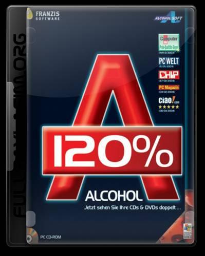 Alcohol 120% 1.9.6.5403 - создаем образы CDDVD. Программы Скачать Winamp,